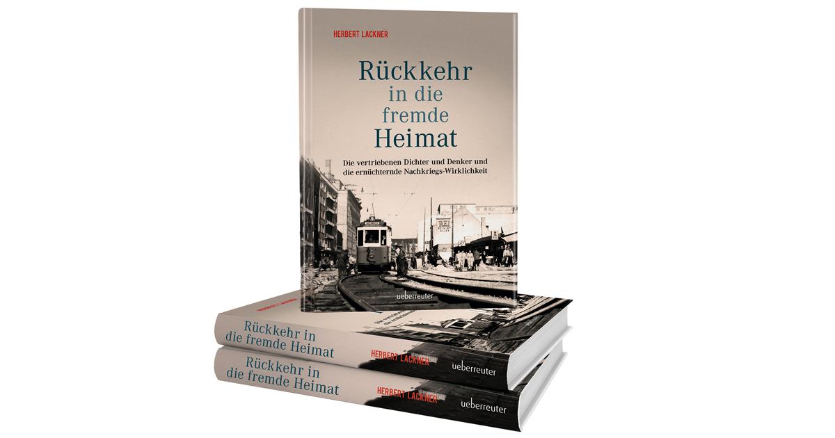 Vormerken und dabei sein! Herbert Lackner spricht mit Lou Lorenz-Dittlbacher: Packende Zeitgeschichte, packend erzählt!