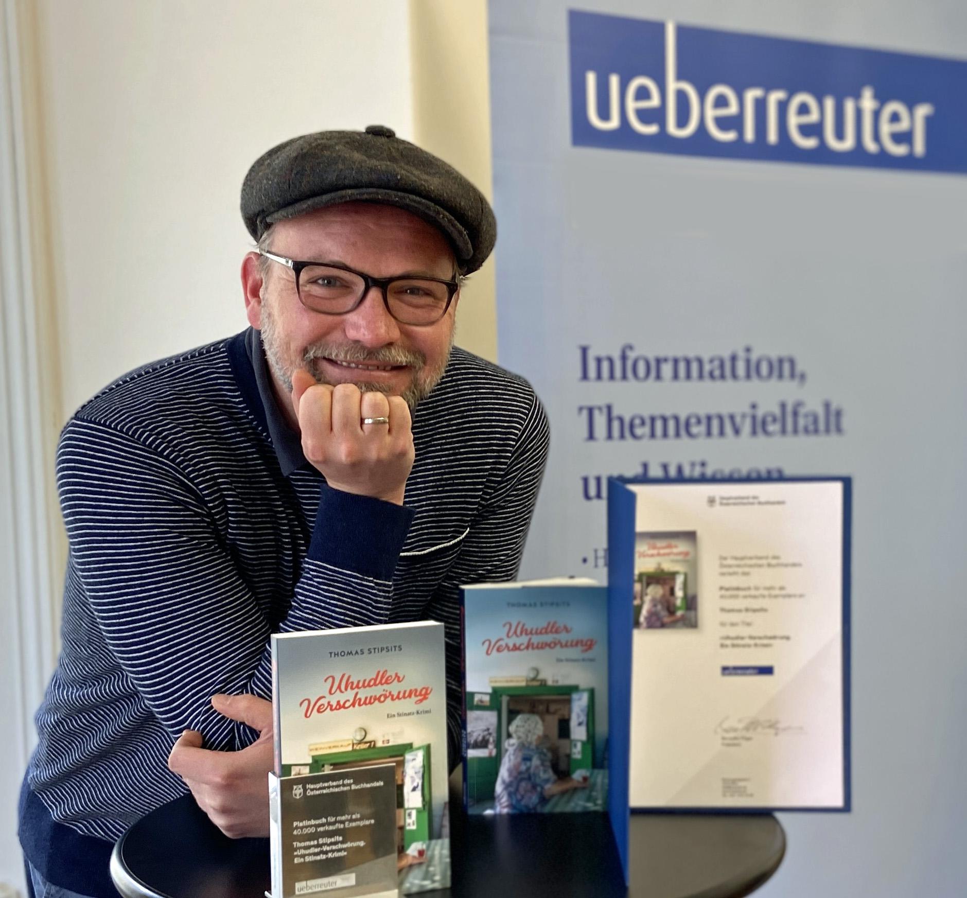 """Thomas Stipsits und die """"Uhudler-Verschwörung"""" werden mit dem Platinbuch ausgezeichnet!"""